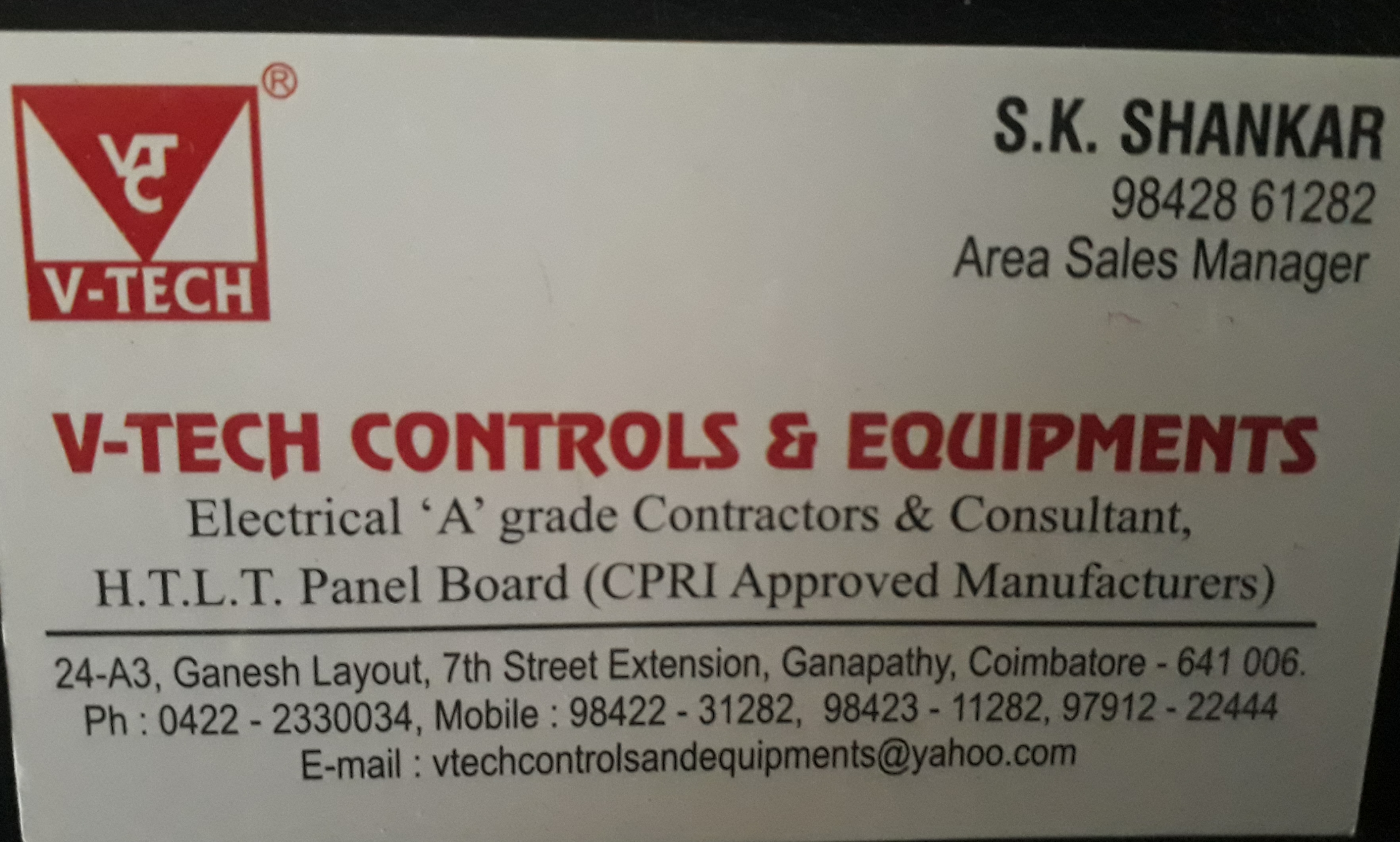 Vtech Controls & Equipments.