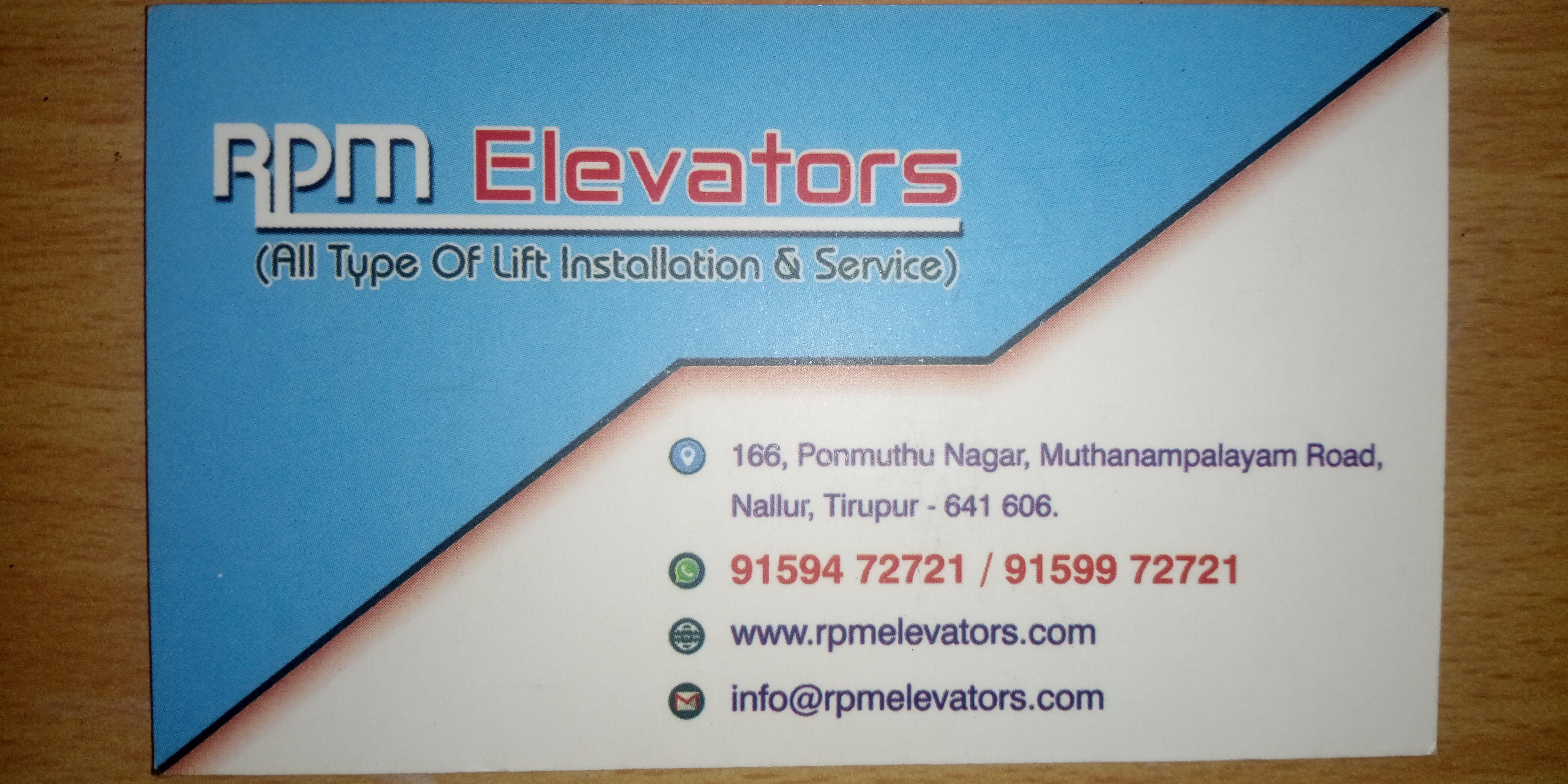 RPM Elevatorrs
