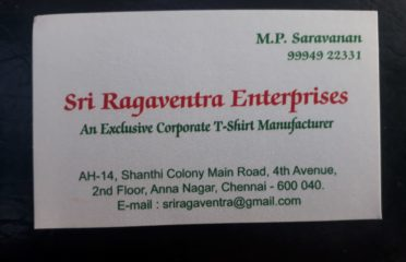 SRI RAGAVENTRA ENTERPRISES