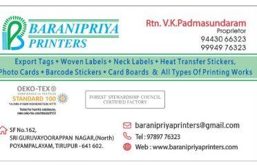 Baranipriya Printers