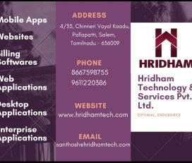 Hridham Technology & Services Pvt Ltd