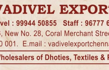 Vadivel Export